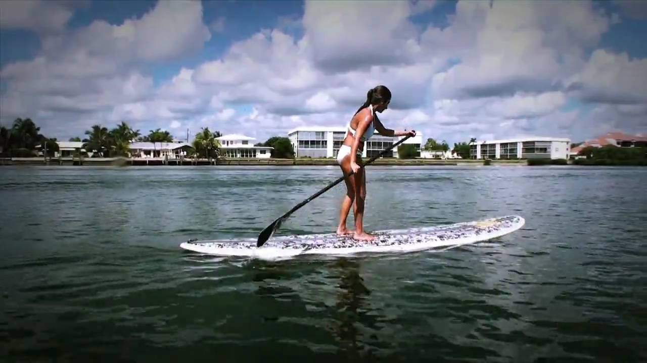 Jupiter Paddleboarding jams in HIGH def!