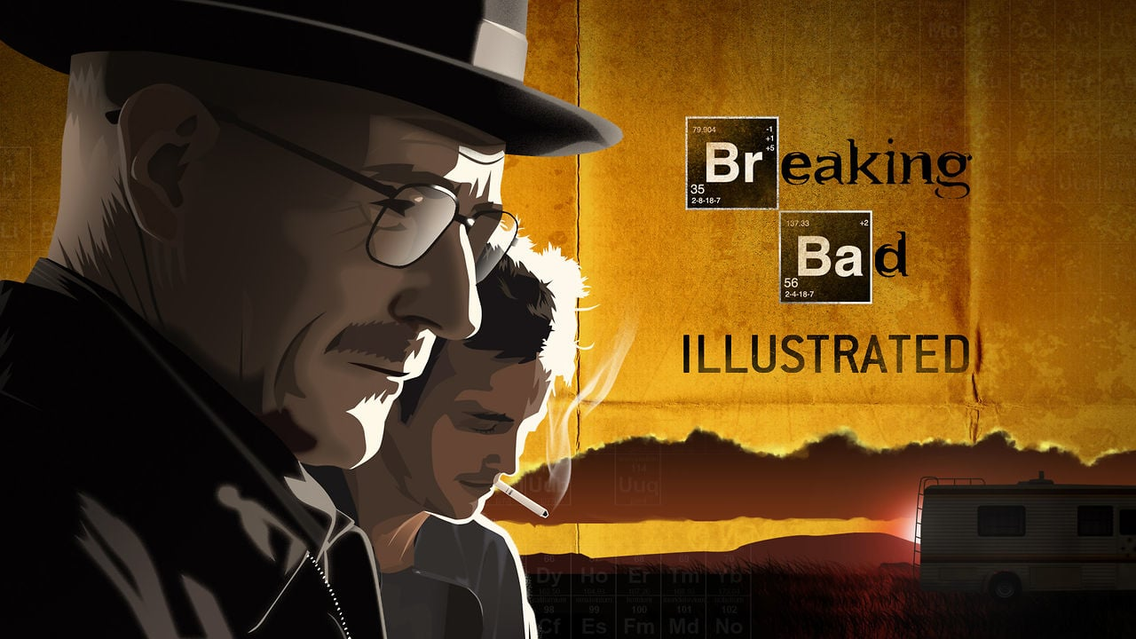 Just someones's side project….BREAKING BAD INTRO…animated!