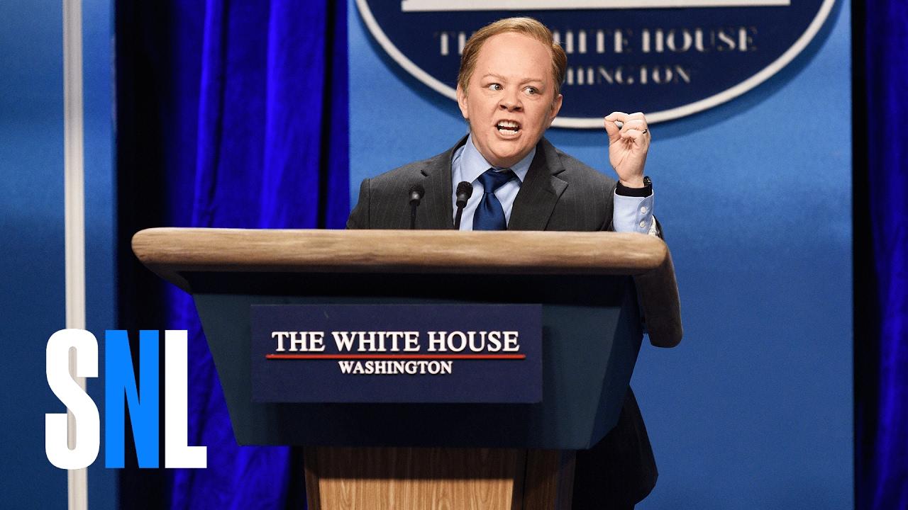 Sean Spicer Press Conference (Melissa McCarthy) – SNL