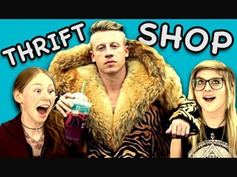 """Teens React to """"Thrift Shop""""….lets ask the kids!"""